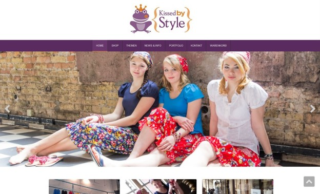 KissedbyStyle.de - WooCommerce Shop für neues Modelabel